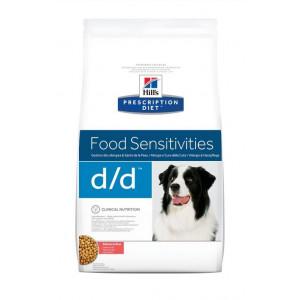 Hill's Prescription D/D Food Sensitivities saumon et riz pour chien