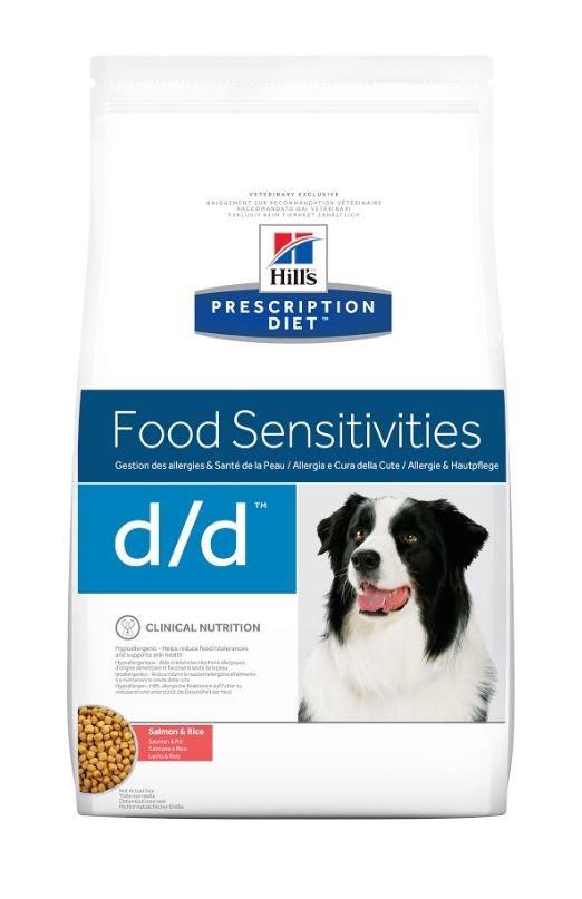 Hill's Prescription Diet Skin Support d/d pour chien