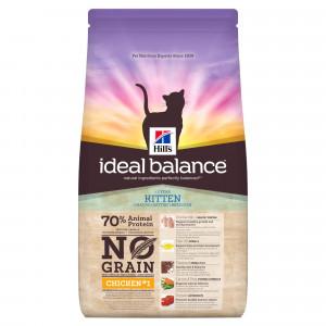 Image de 1.5 kg Hill's Ideal Balance Kitten No Grain poulet pour chaton