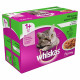 Whiskas Chat - Sélection Mixte en gelée, 12 x 100g