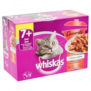 Whiskas Senior 7+ Casserole Classic Sélection à la Volaille en gelée