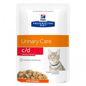 Hill's Prescription Diet C/D Urinary Stress Sachets