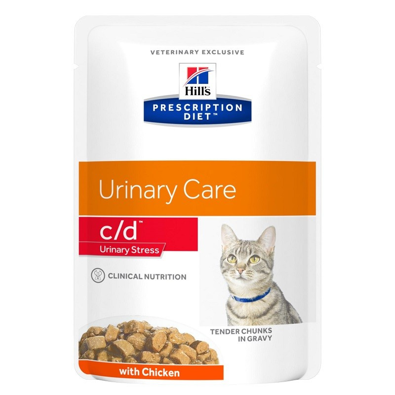 Hill's Prescription Diet C/D Urinary Stress Sachets