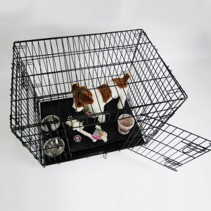 Caisse de transport Noir 87 x 58 x 67 cm pour chien