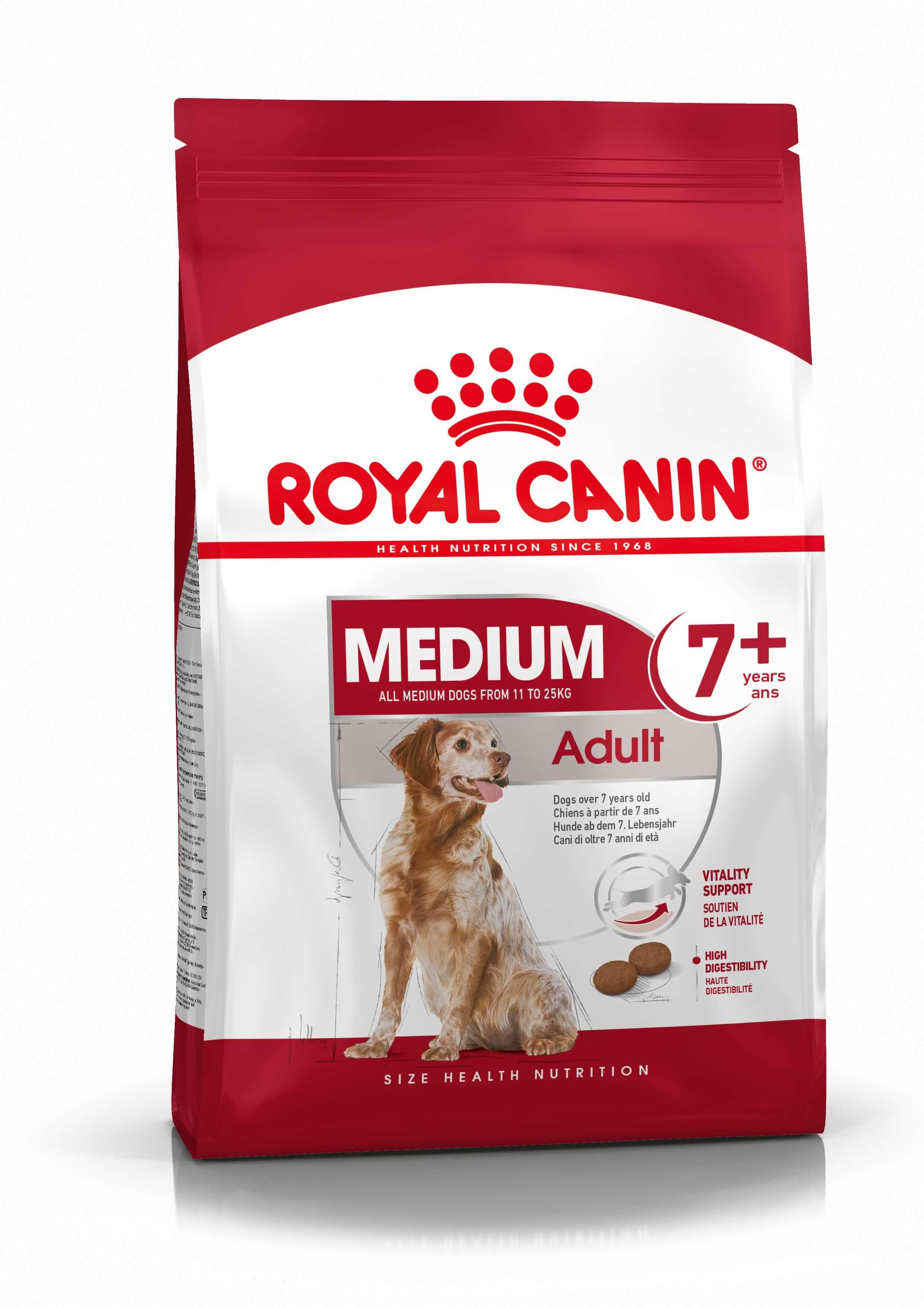 Royal Canin Medium Adult 7+ pour chien