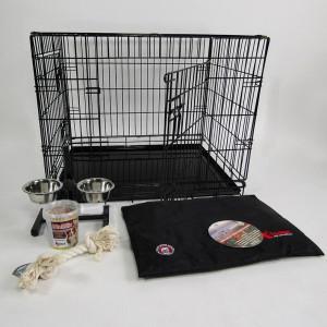 Pack avantage : Cage et autres accessoires pour chien - Large Par pack de 5 produits