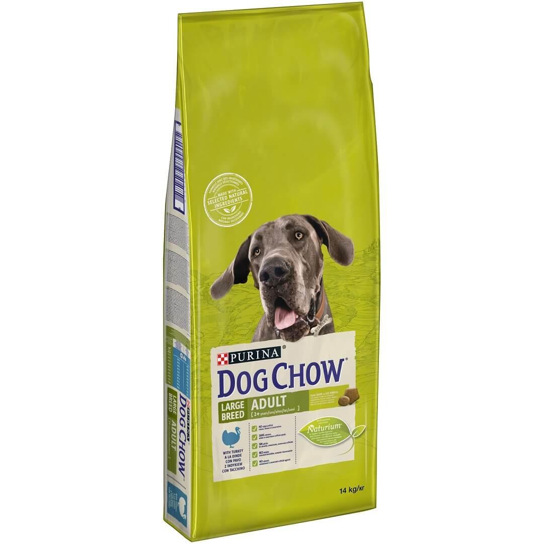 Dog Chow Adult large breed dinde et riz pour chien