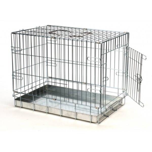 Cage de transport 87 x 58 x 67 cm pour chien