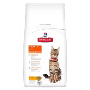 Hill's Optimal Care Adulte Chat, au Poulet