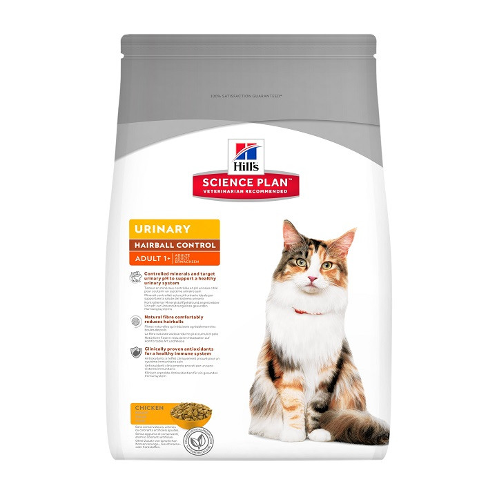 Hill's Urinary and Hairball Control Chat Adulte