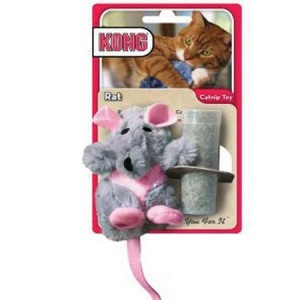 Kong Rat avec Herbe à Chats
