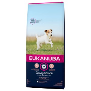 Eukanuba Caring Senior Small Breed au poulet pour Chien
