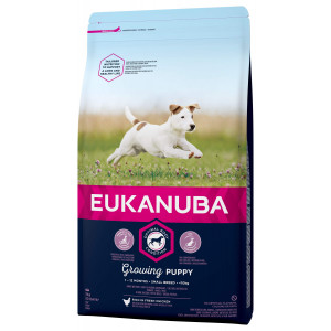 Eukanuba Growing Puppy Small Breed au poulet pour Chiot
