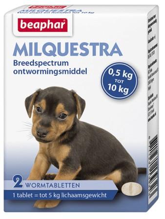 Beaphar Milquestra Wormmiddel kleine hond en puppy