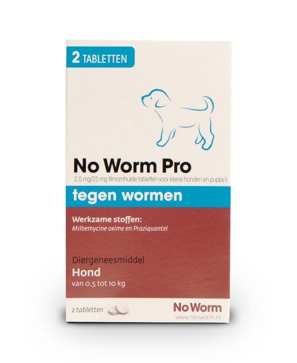 No Worm Pro Kleine Hond & Puppy
