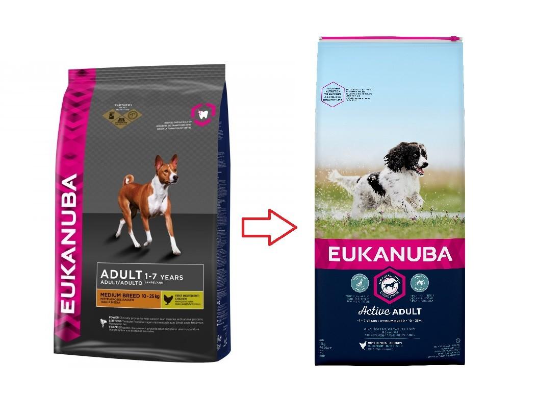 Eukanuba Adult Medium Breed pour chien