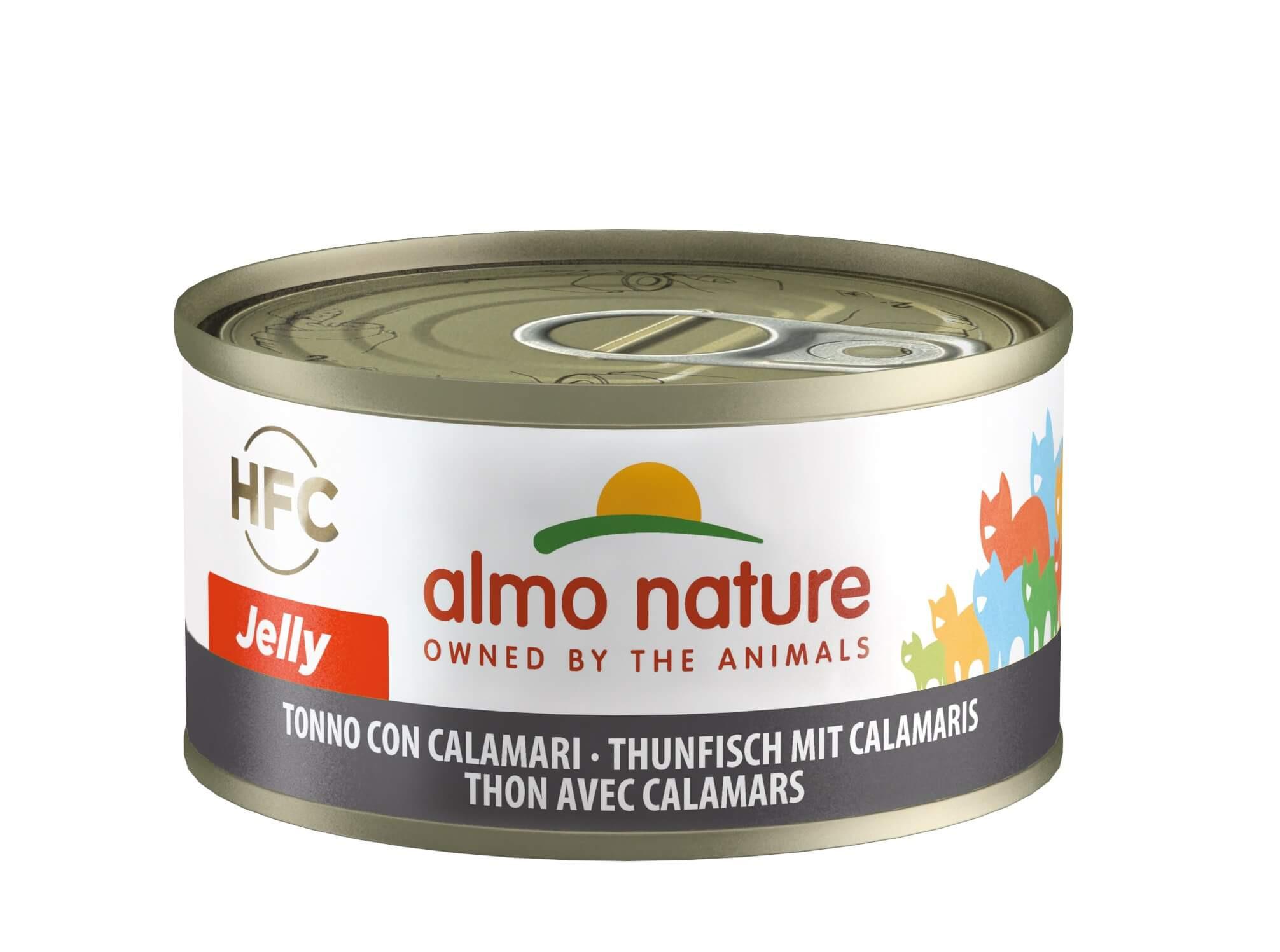 Almo Nature HFC Jelly Thon Calamar nr. 5019H