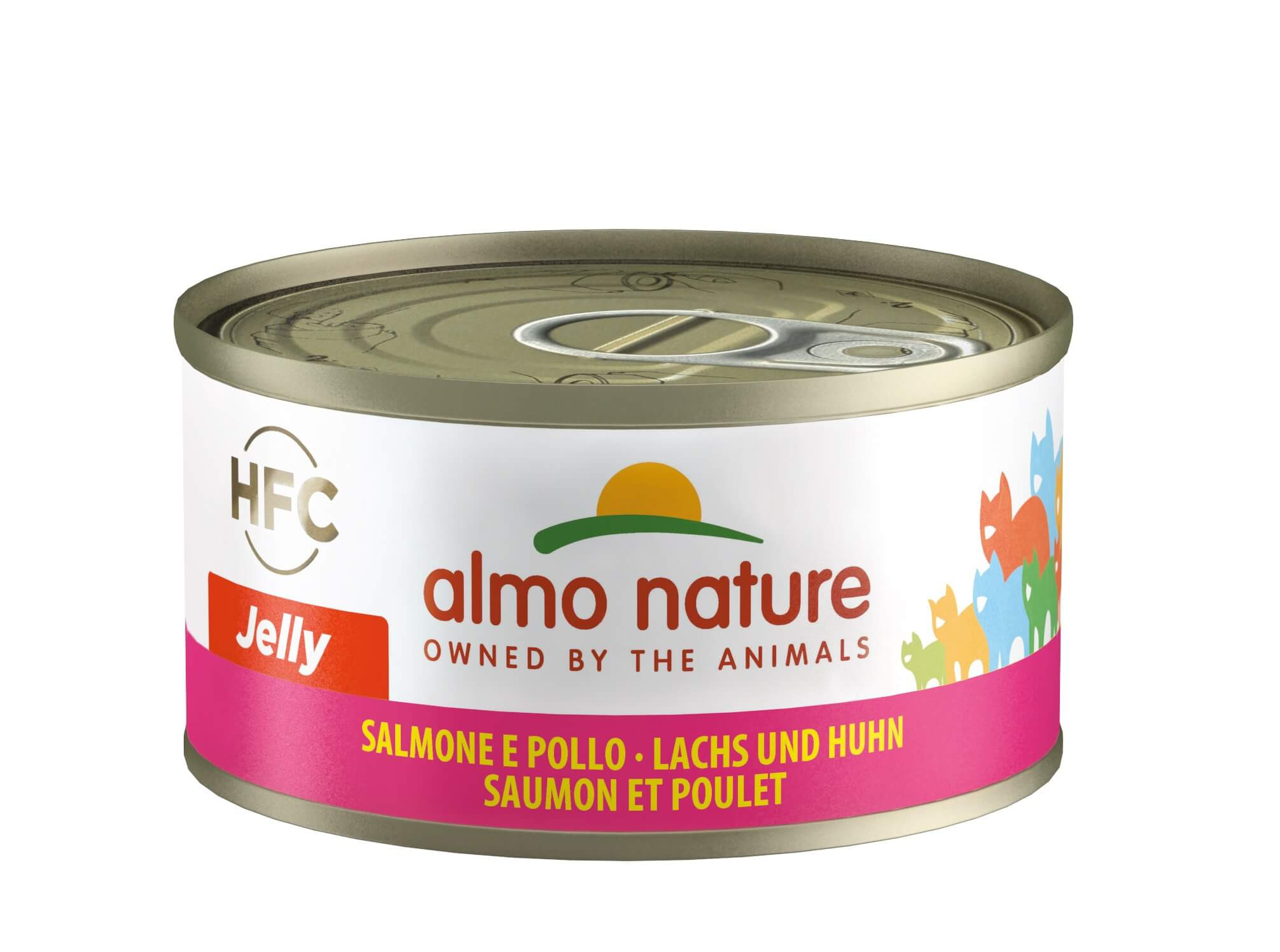 Almo Nature HFC Jelly Saumon et Poulet pour Chat nr. 5030H