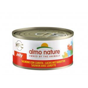 Almo Nature HFC Jelly Saumon et Carottes pour chat