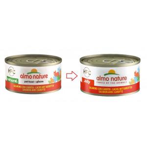 Almo Nature HFC Jelly Saumon et Carottes pour Chat nr. 5032H