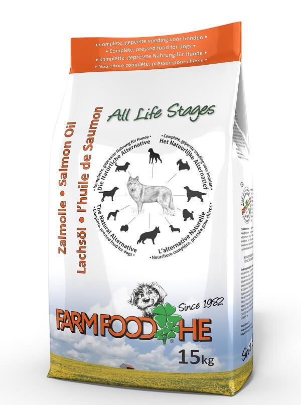 Farm Food HE Huile Saumon Ecosse pour chien