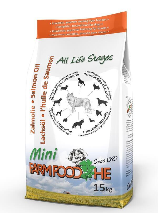 Farm Food HE Mini Huile Saumon Ecosse pour chien