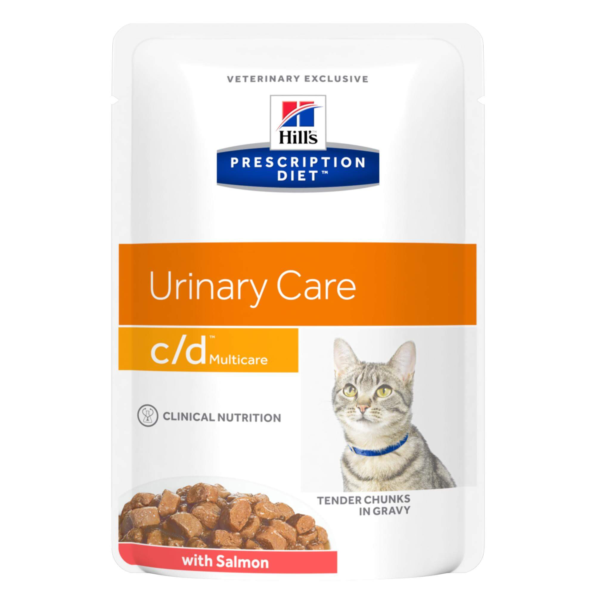 Hill's Prescription Diet Feline C/D Saumon ds.12