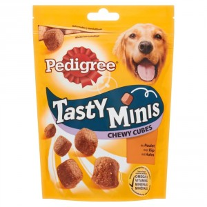 Pedigree Tasty Minis Chewy Cubes Kip hondensnack