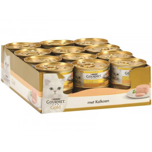 Gourmet Gold Chat Mousse de Dinde