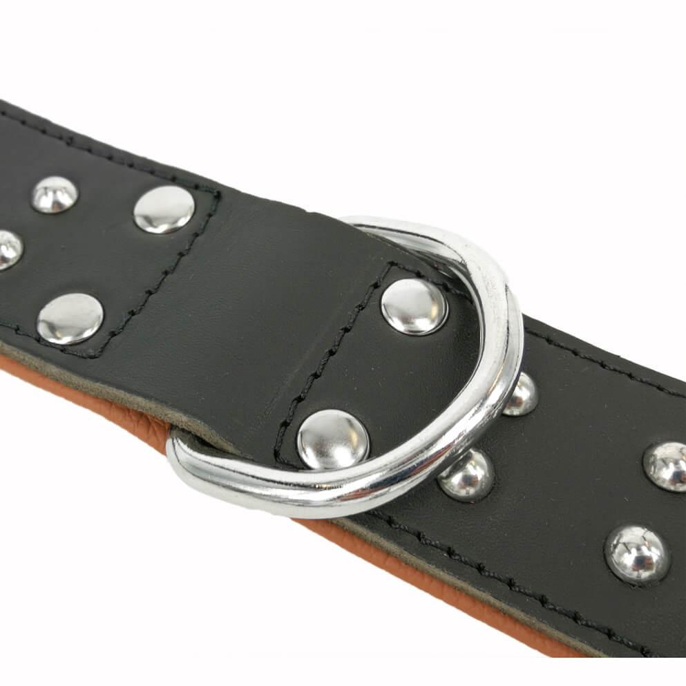 Softleren Halsband Quasar Zwart