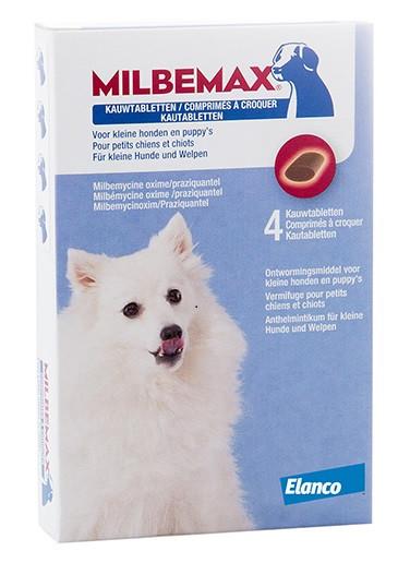 Milbemax Vermifuge À Croquer Small pour chien et chiot