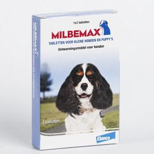 Milbemax Vermifuge Small pour chien et chiot