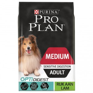 Pro Plan Medium Sensitive Digestion Adult Agneau pour Chien