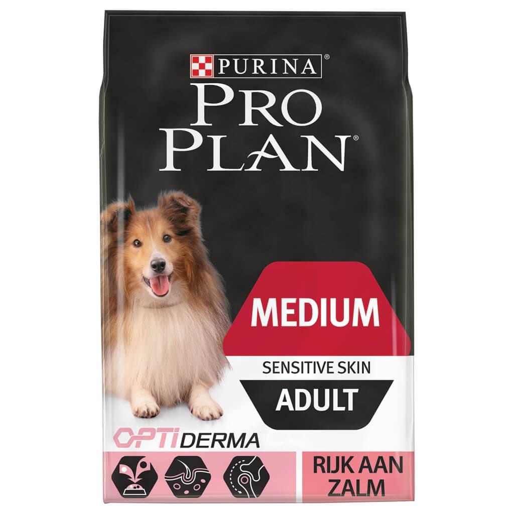 Pro Plan Medium Sensitive Skin Adult Saumon pour Chien