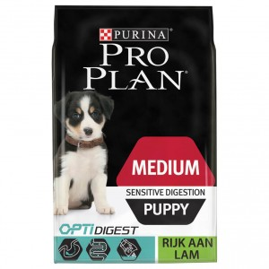 Pro Plan Medium Sensitive Digestion Puppy Agneau pour chiot