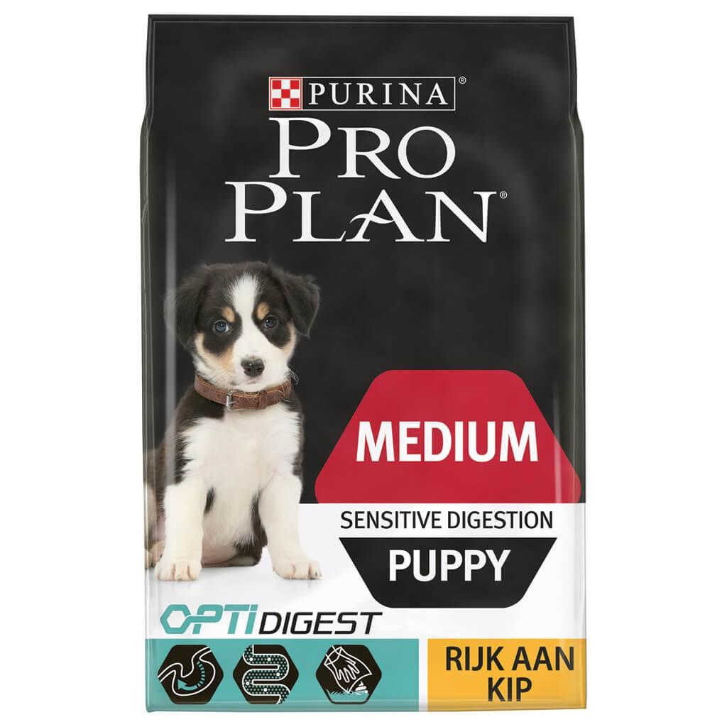 Pro Plan Medium Sensitive Digestion Puppy Poulet pour Chiot