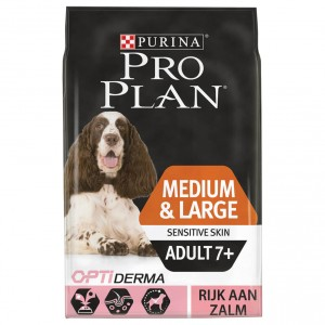 Pro Plan Medium & Large Sensitive Skin Adult 7+ pour Chien