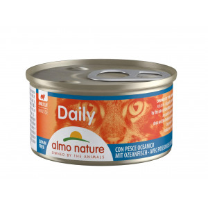 Almo Nature Daily Mousse Poisson 85g pour chat