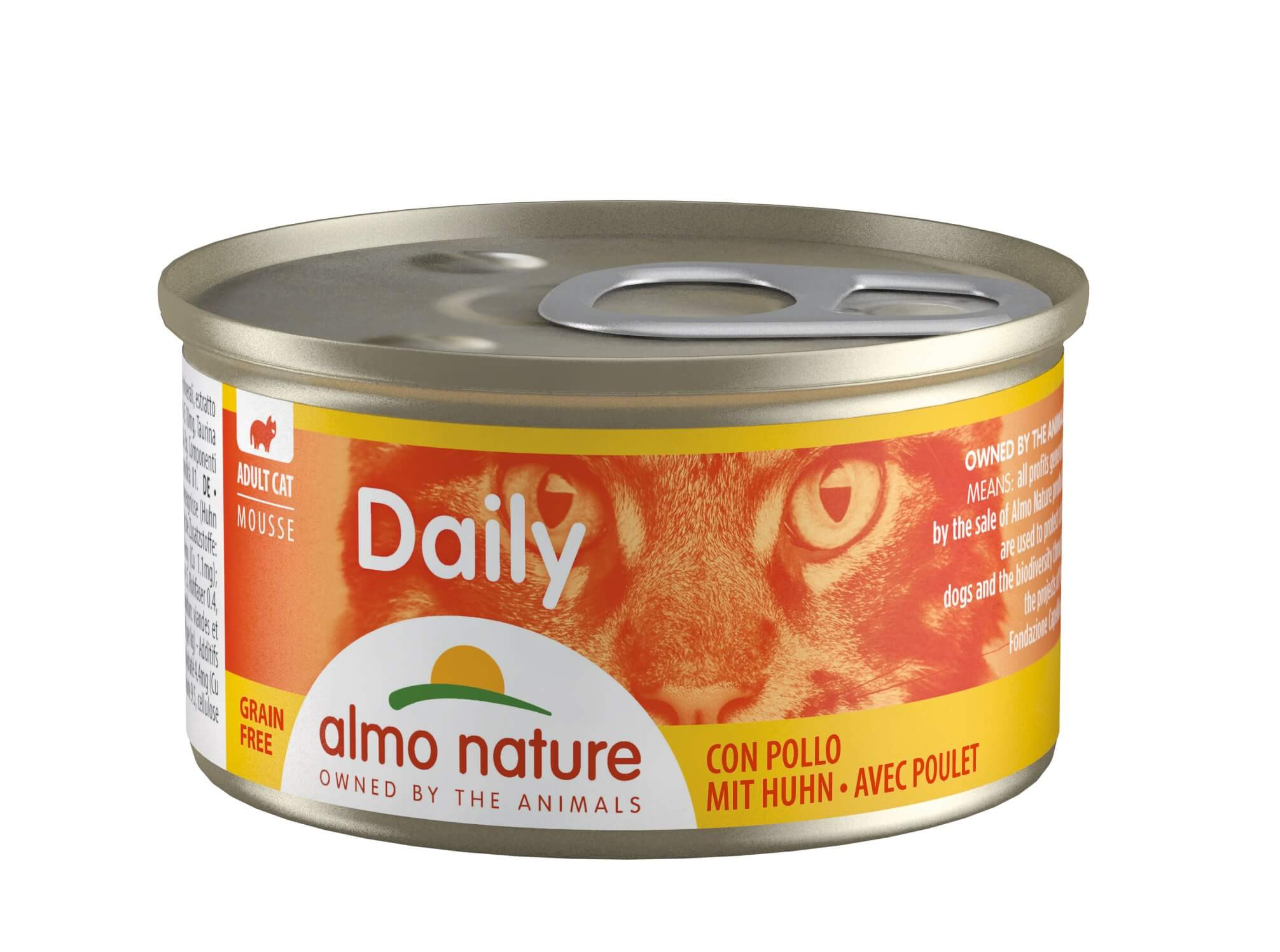 Almo Nature Daily Mousse Poulet 85g (153)
