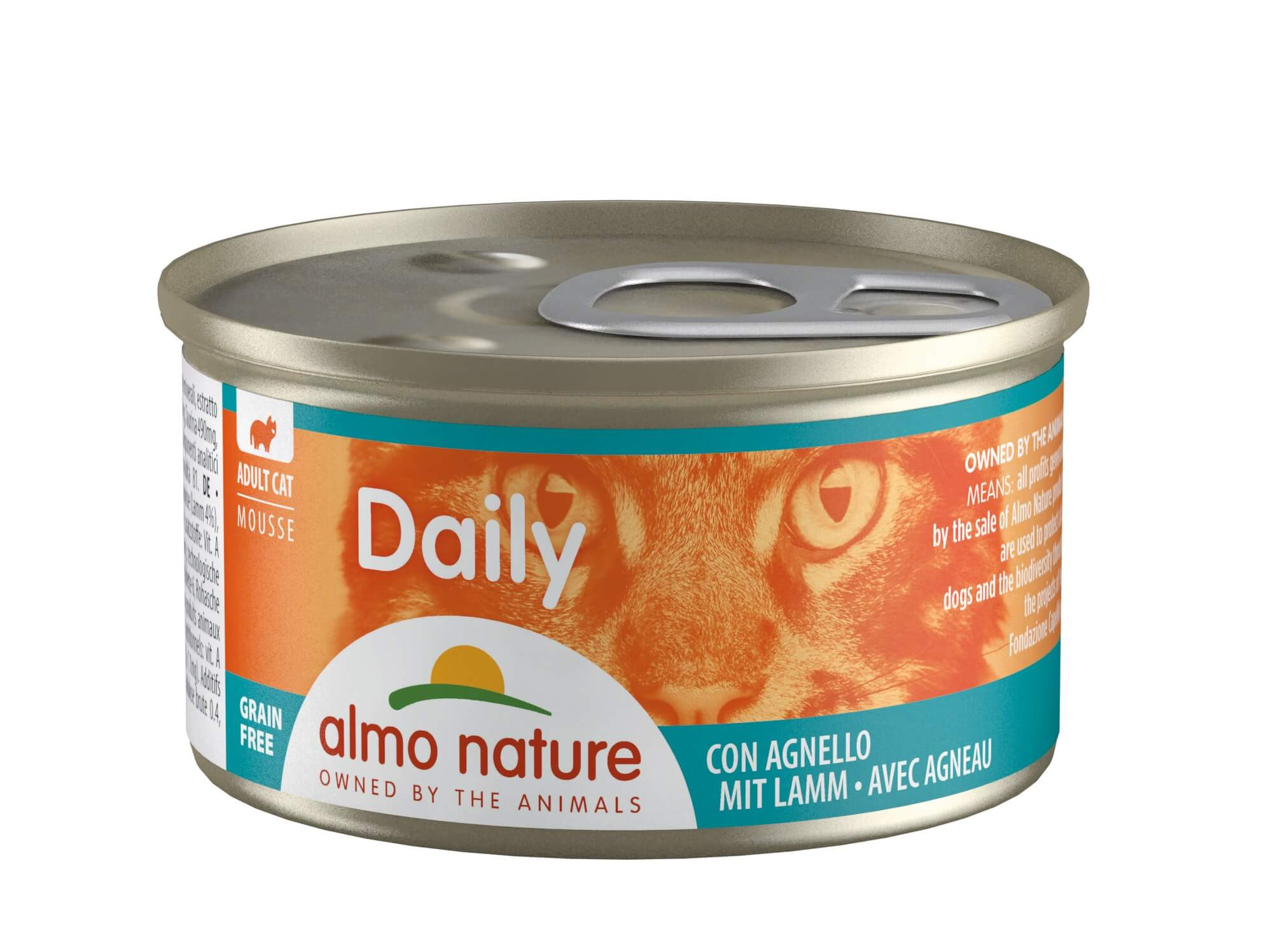 Almo Nature Daily Mousse Agneau 85g (155)