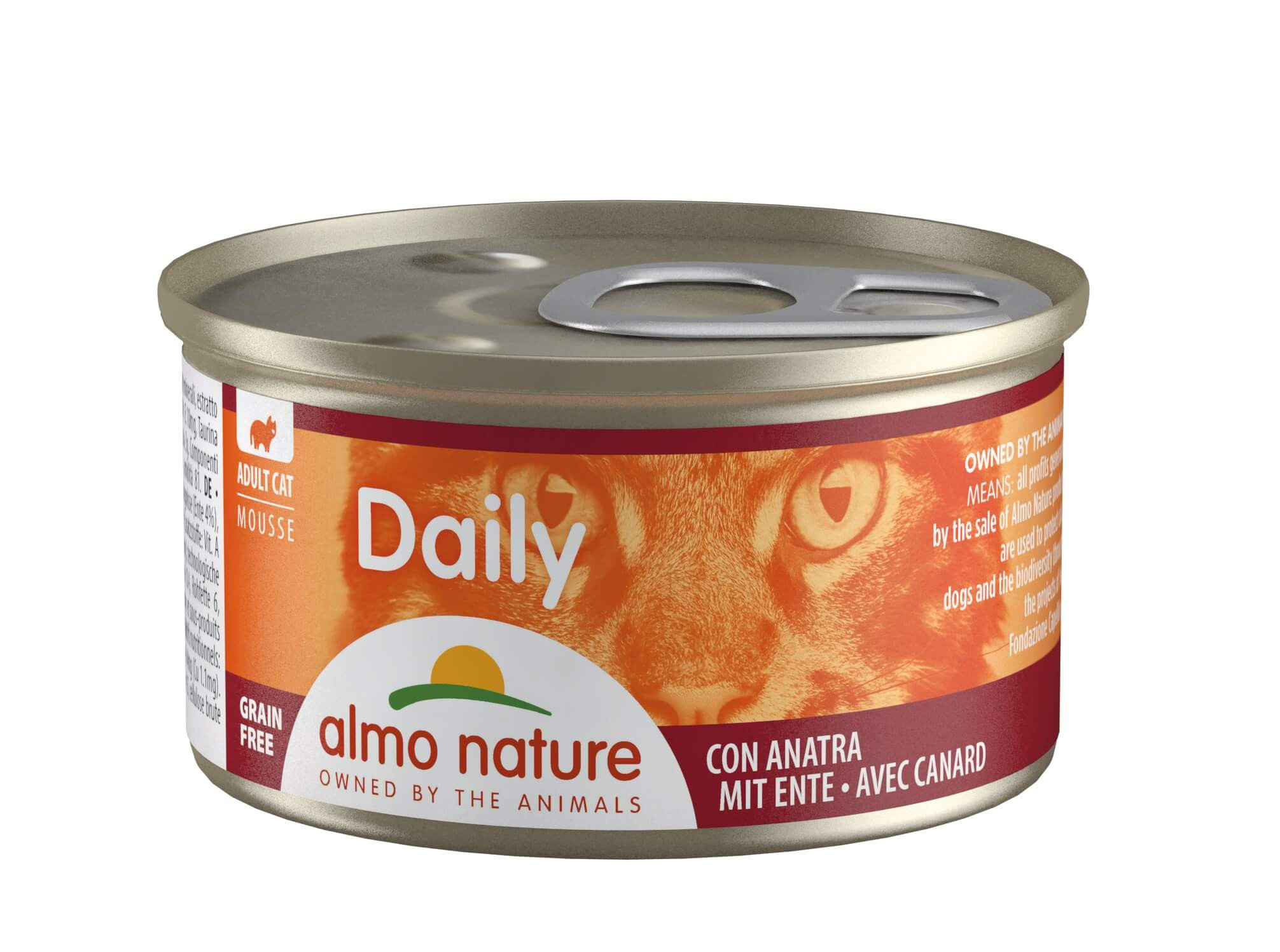 Almo Nature Daily Mousse Canard 85g pour chat