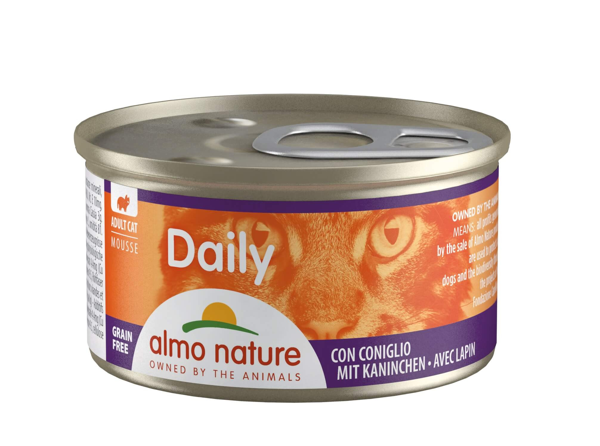 Almo Nature Daily Mouse Lapin 85g (157)