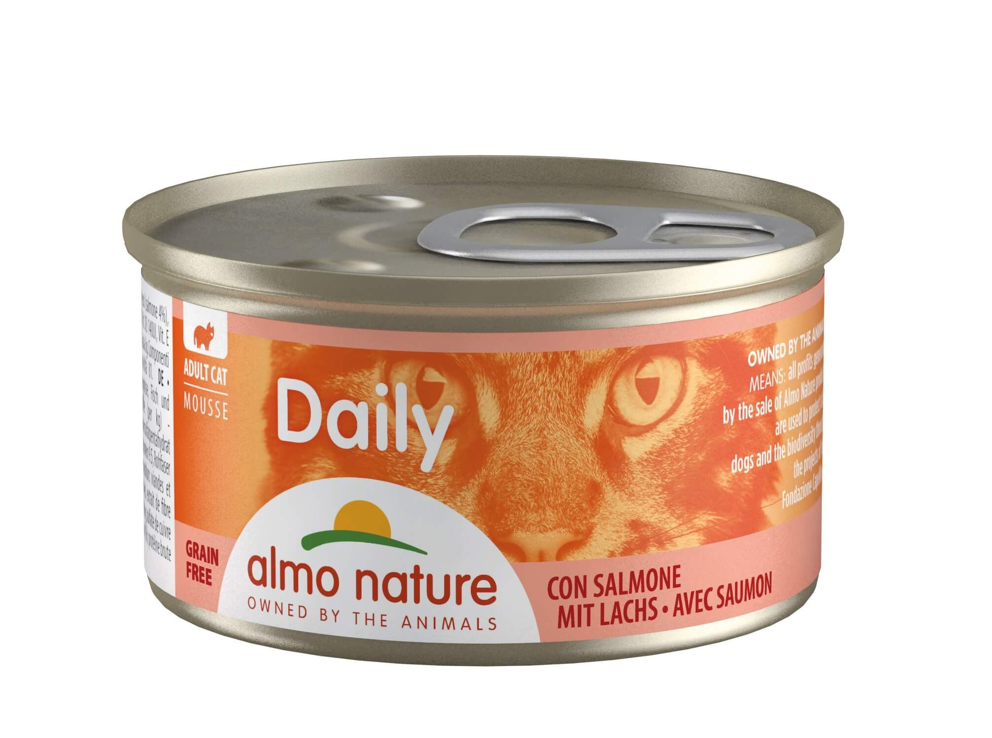 Almo Nature Daily Mousse Saumon 85g
