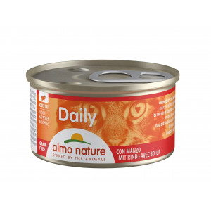 Almo Nature Daily Collation Boeuf 85g pour chat