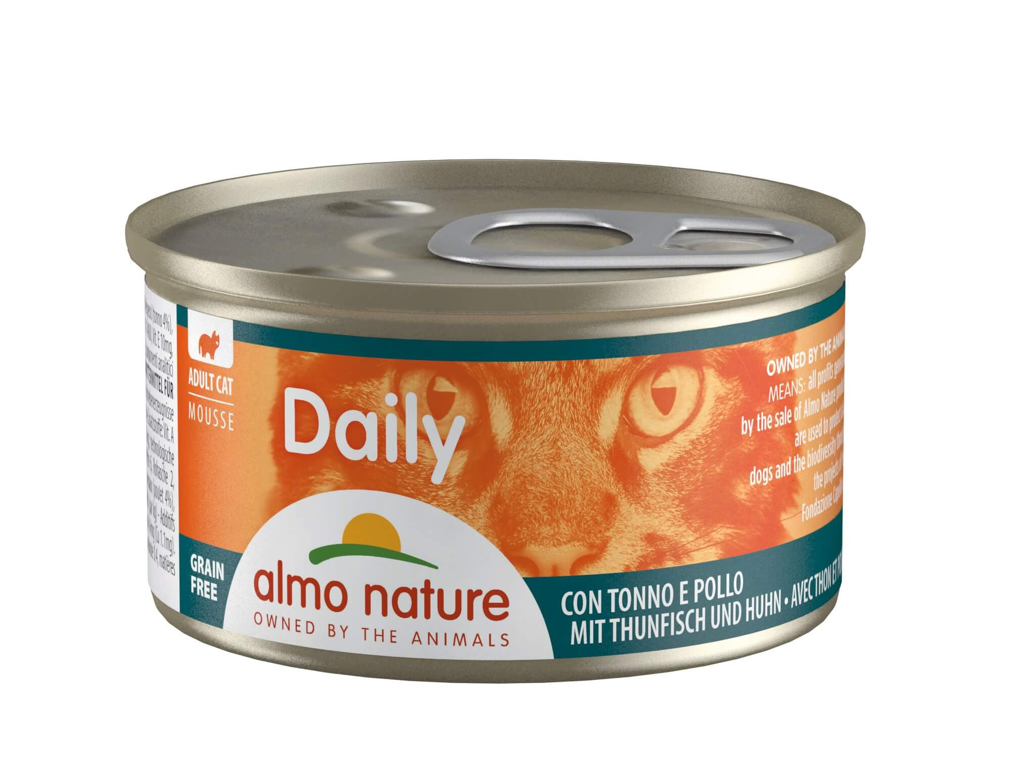 Almo Nature Daily Mousse Thon Poulet 85g
