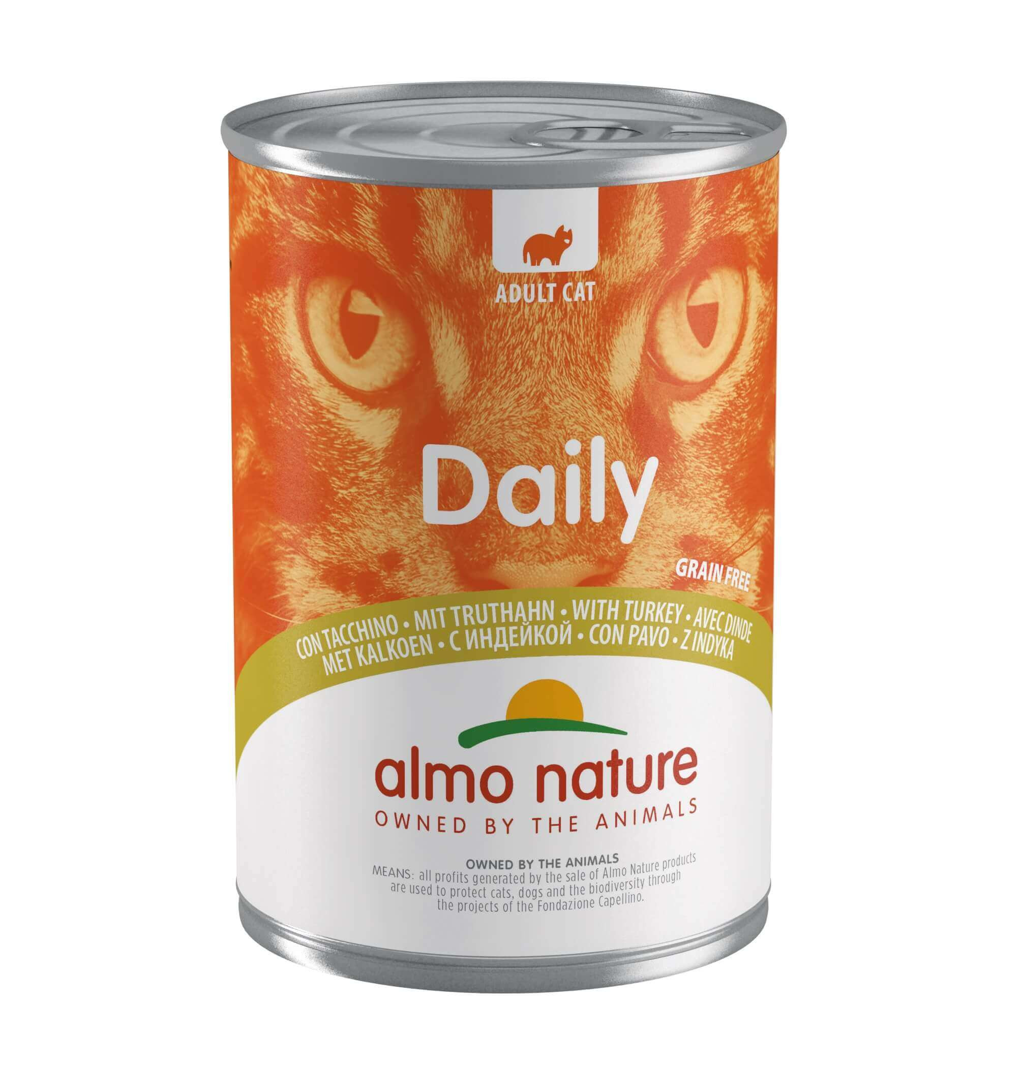 Almo Nature Daily avec dinde 400g