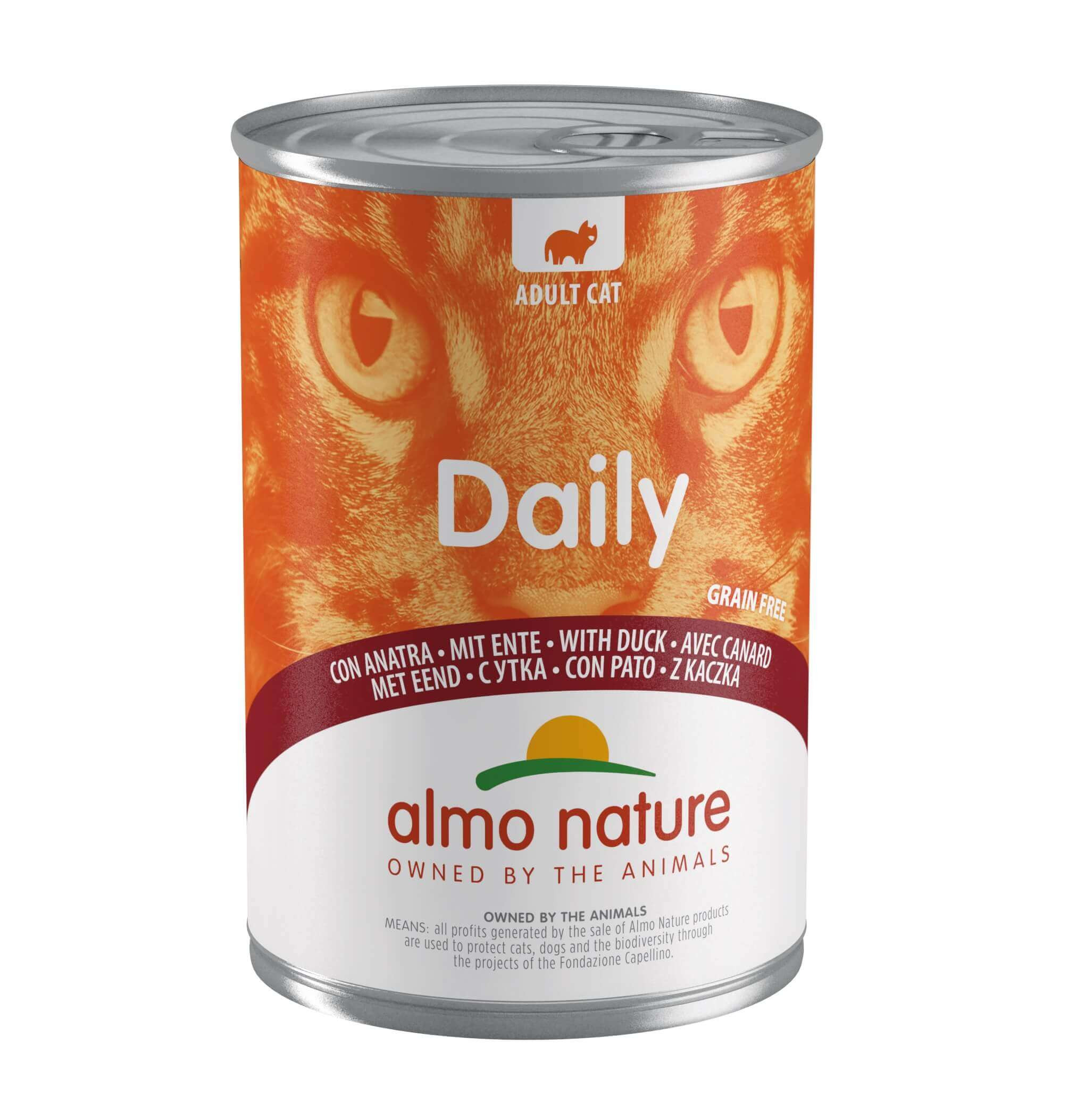 Almo Nature Daily Canard 400 gr pour chat