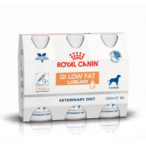 Royal Canin Veterinary Diet GI Low Fat Liquid Hond