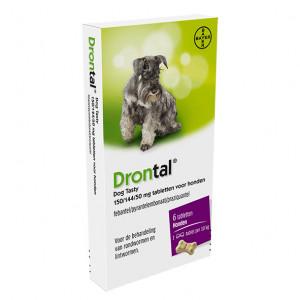 Drontal Dog Tasty Ontwormingsmiddel