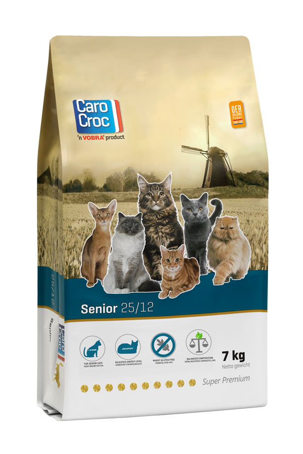 Carocroc 25/12 pour Chat Senior